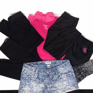 Lot of 7 Girls Tops and Bottoms A010671